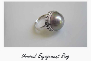 Unusual engagement rings