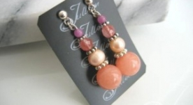 Celia Cluster Earrings