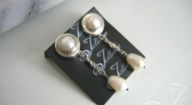 Clip On Marilyn Earrings