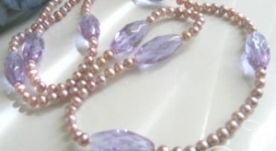 Lavender Mist Necklace