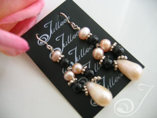 Amanda Pearl Drop Earrings E038-07