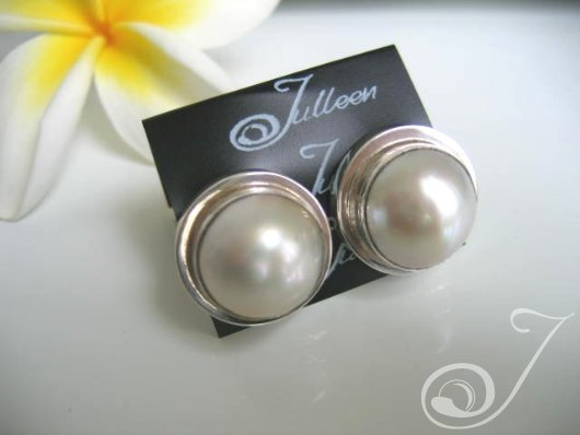 Clip On Mala Earrings E701LSC-01