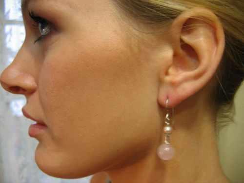 Pearl Pearl Drop Earring