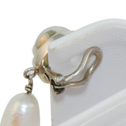 Pearl Drop Earring Clip on