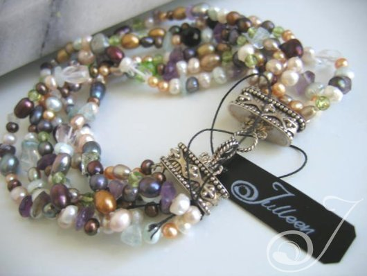 Kelly Cocktail Pearl Bracelet VO050K_B
