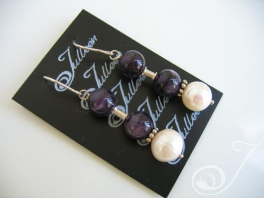 Leena Pearl Cluster Earrings E017-110