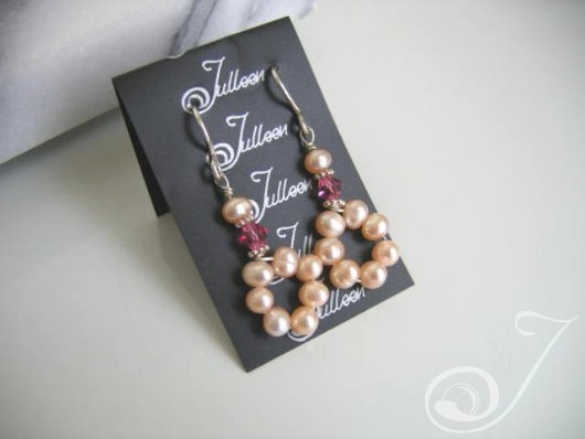 Pink Musk Drop Earrings E039.10