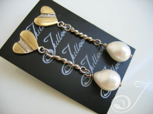 Tina Pearl Drop Earrings E008-01