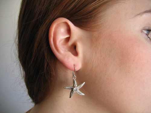 Star Fish Earring