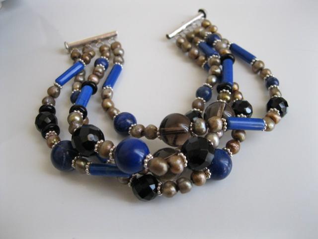 Lavina Lapis Lazuli Bracelet BR2212