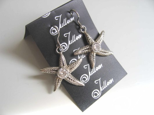 Star Bling Sterling Earring ET001-03A