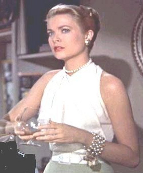 Grace Kelly Pearl Bracelet