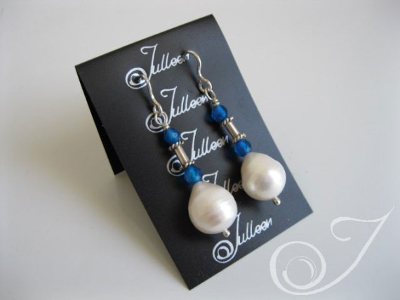 Cali Pearl Drop Earrings E037.45