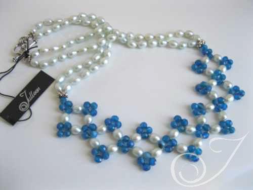 Calinda Agate Necklace VO027.10