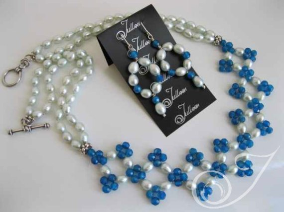 Calinda Necklace & Earrings Set VO027.10.SET