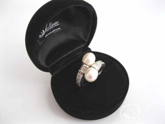 Double Pearl Ring RP002