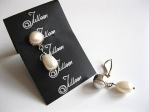 Clip On Pearl Earring