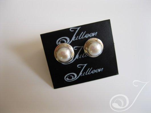 earrings victoria pearl E070S.01