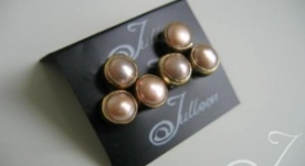 Clip On Shireen Pink Earrings